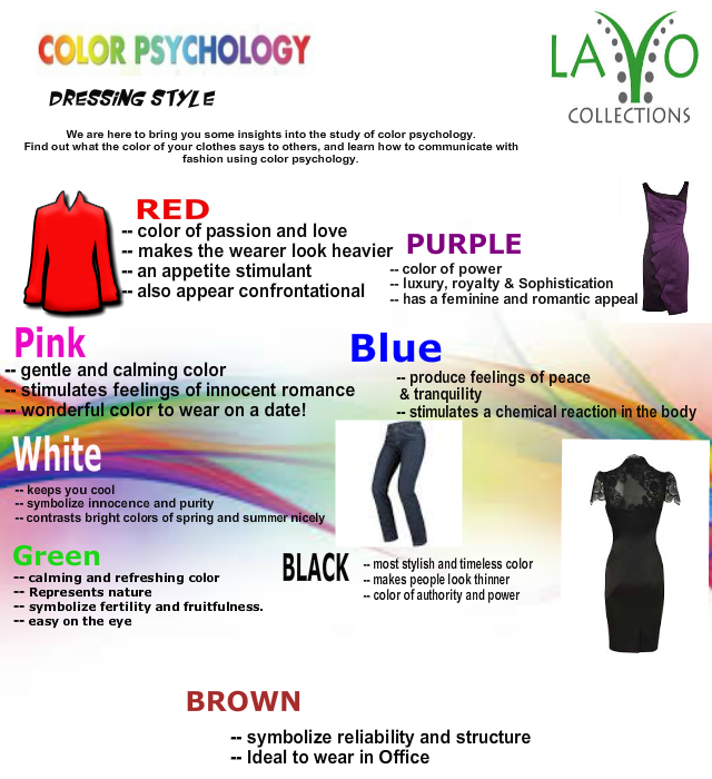 Infographics - Colors Psychology