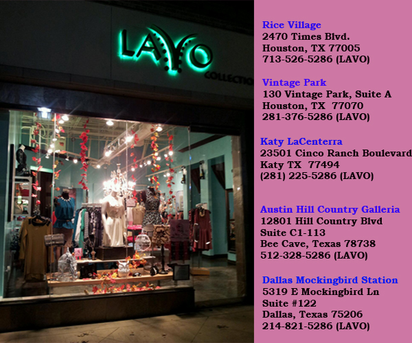 lavo Collections stores in Texas